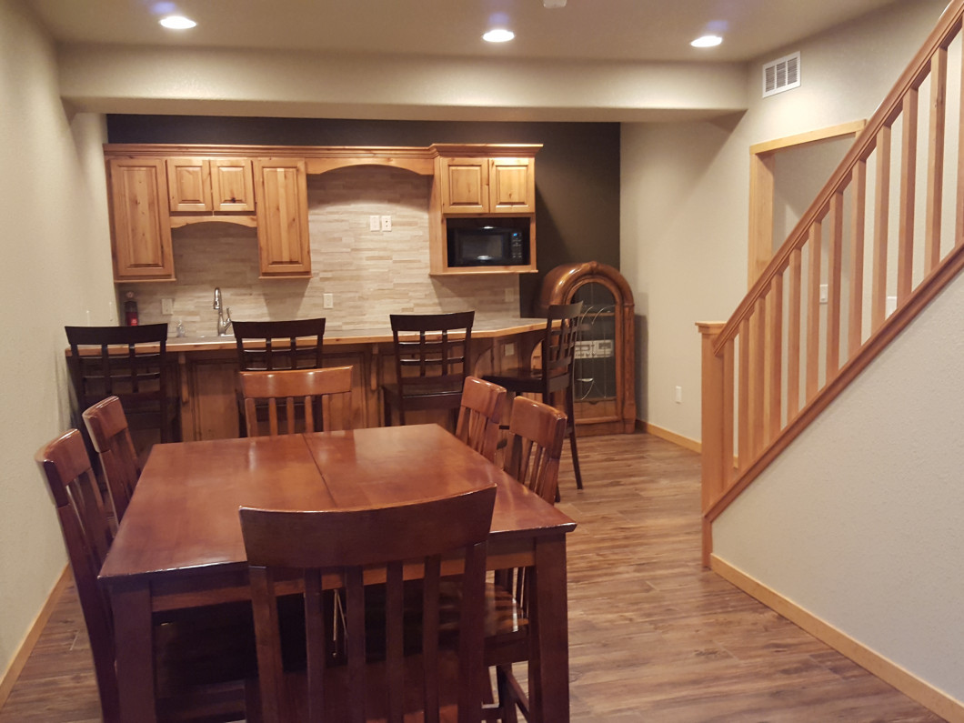 Turn your unfinished Basement into a spacious living area for your friends and family